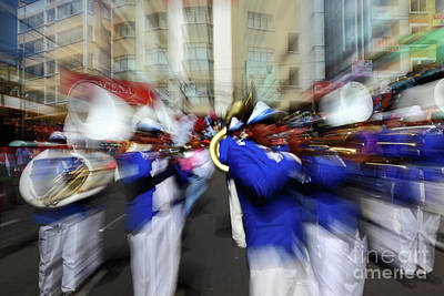 Marching Band Photograph - Bring On The Brass Band 2 by James Brunker
