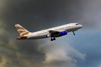 Airways Photograph - British Airways Airbus A319-131 by Nichola Denny