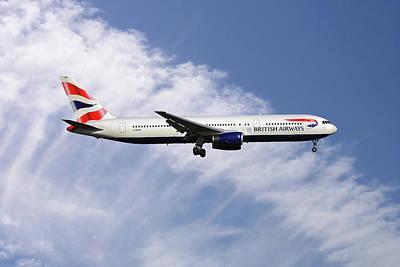 Photograph - British Airways Boeing 767-336 by Nichola Denny