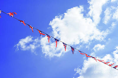 Photograph - British Flag Bunting by Tom Gowanlock