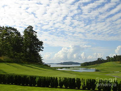 Photograph - Bro Hof Slott Golf Club Sweden by Jan Daniels