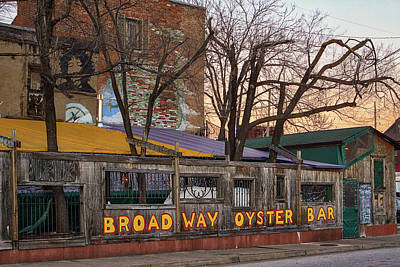 Photograph - Broadway Oyster Bar by Robert FERD Frank