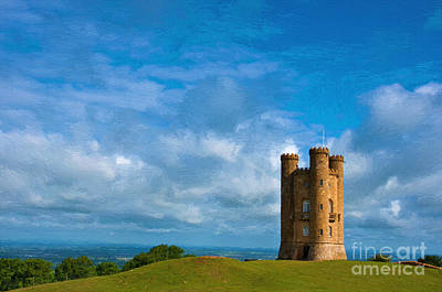 Photograph - Broadway Tower by Andrew Michael