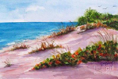 Brohard Beach Art Print by Suzanne Krueger