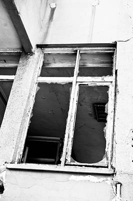 Broken Window Art Print by Tom Gowanlock