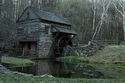 Solebury Farm Photograph - Bromley's Mill by Roland Kemler