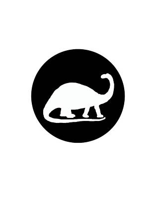 Dinosaur Painting - Brontosaurus by Mordax Furittus