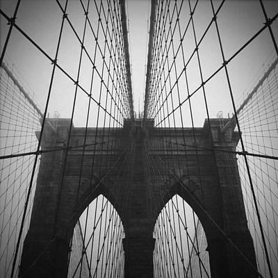 Brooklyn Bridge Photograph - Brooklyn Bridge by Eli Maier