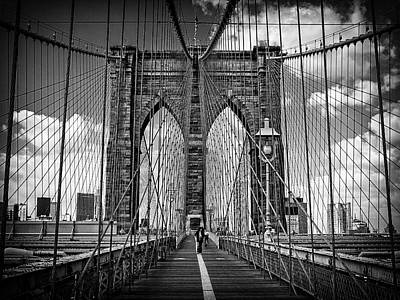 Photograph - Brooklyn Bridge by Frank Winters