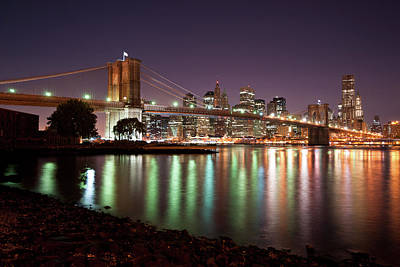 Photograph - Brooklyn Bridge by Johnny Sandaire