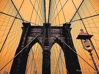 Photograph - Brooklyn Bridge - Nyc by Juergen Weiss