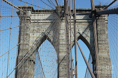 Photograph - Brooklyn Bridge by Wilko Van de Kamp