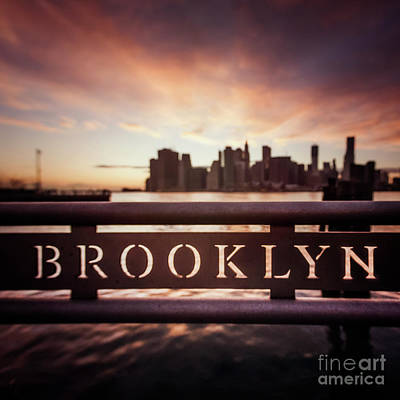 City Scenes Royalty-Free and Rights-Managed Images - Brooklyn by Evelina Kremsdorf