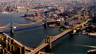 Photograph - Brooklyn From World Trade Center by Christopher Kirby