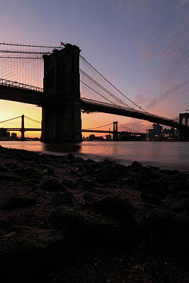 Photograph - Brooklyn Sunrise by Anthony Fields