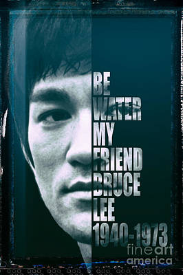 Hip Hop Photograph - Bruce Lee by Jonas Luis