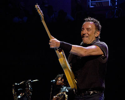 Photograph - Bruce Springsteen In Cleveland by Jeff Ross