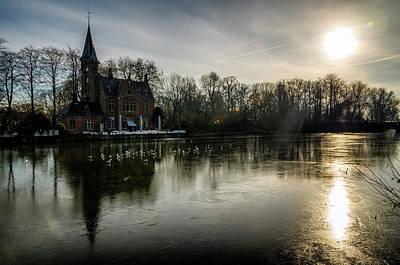 Photograph - Frozen Bruges by Pablo Lopez