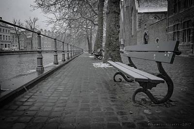 Photograph - Brugge Canal by Henri Irizarri