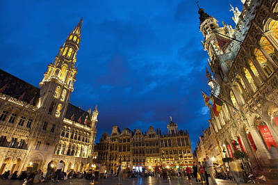 Brussels, Belgium Art Print by Axiom Photographic