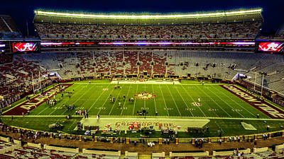Photograph - Bryant-denny Stadium by Kevin Senter