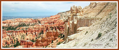 Photograph - Bryce Canyon National Park, Utah by A Gurmankin