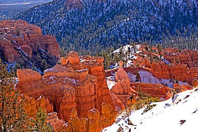 Bryce Canyon N.p. Art Print by Larry Gohl