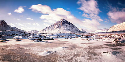 Photograph - Buachaille Etive Mor Pano by Scott Masterton