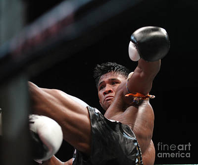 Buakaw The Muay Thai Master Art Print