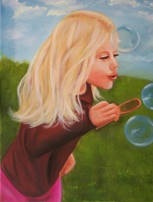 Bubbles Art Print by Joni McPherson