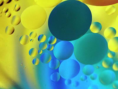 Bubbles Art Print by Rebecca Cozart