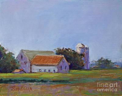 Bucks County Barn Art Print by Joyce A Guariglia