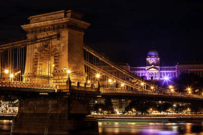 Photograph - Budapest City By Night by Artur Bogacki