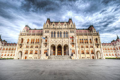 Photograph - Budapest Parliament by David Pyatt