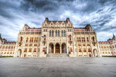 Photograph - Budapest Parliament by David Pyatt