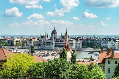 Photograph - Budapest Skyline by Sharon Popek