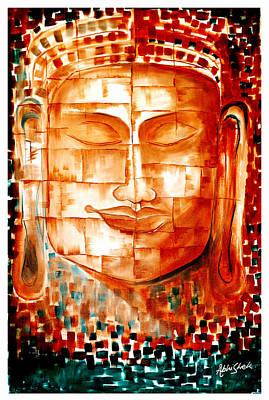 Buddha Art Print by Abhishek Das
