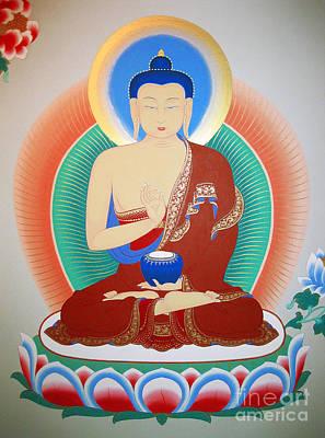 Painting - Buddha Kashyapa by Sergey Noskov