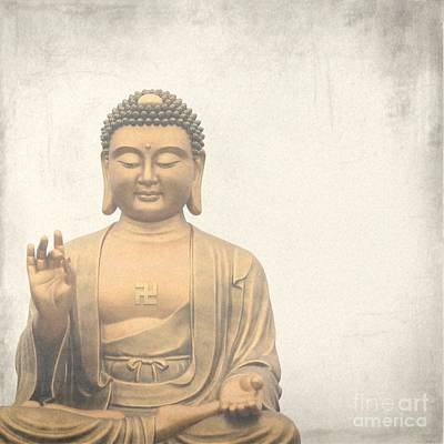 Asian Photograph - Buddha by MingTa Li