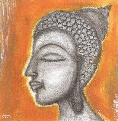 Mixed Media - Buddha  by Prerna Poojara