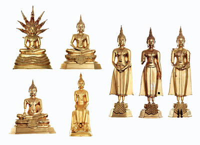 Buddha Statue Original by Phanlop Boonsongsomnukool