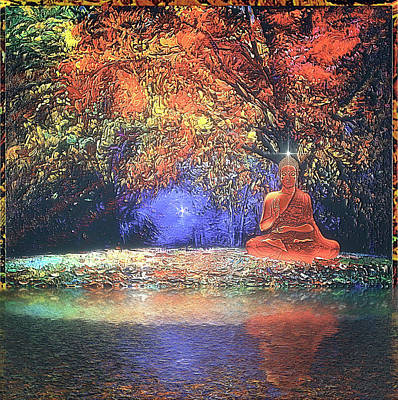Digital Art - Buddhi by Harald Dastis