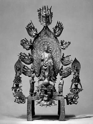 Buddhist Altarpiece Art Print by Granger