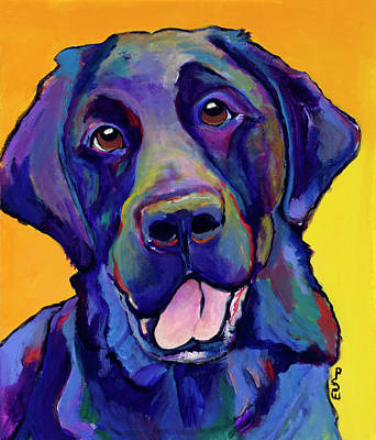 Painting - Buddy by Pat Saunders-White