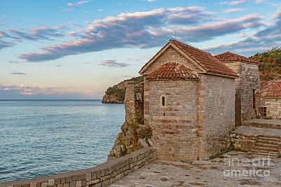 Photograph - Budva Church Of St Sava by Antony McAulay