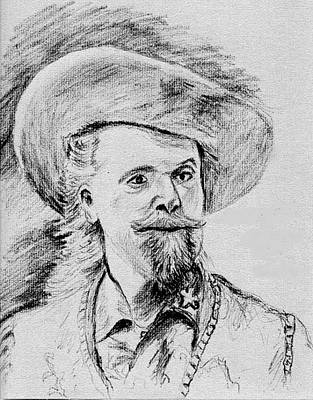 Buffalo Bill Art Print by Stan Hamilton
