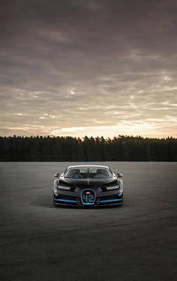 Photograph - Bugatti Chiron by George Williams