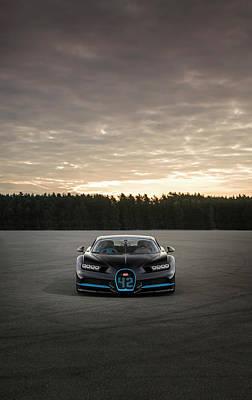 Photograph - Bugatti Chiron by George Williams