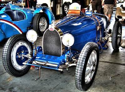 Bugatti Art Print by Josh Williams