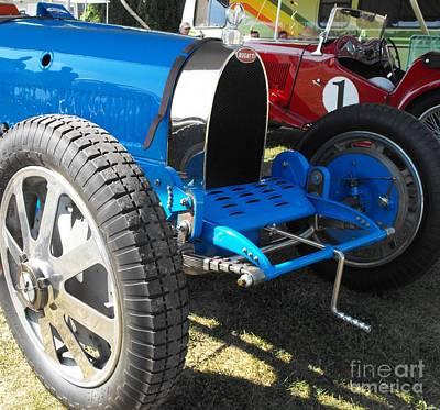 Photograph - Bugatti Racer by Neil Zimmerman